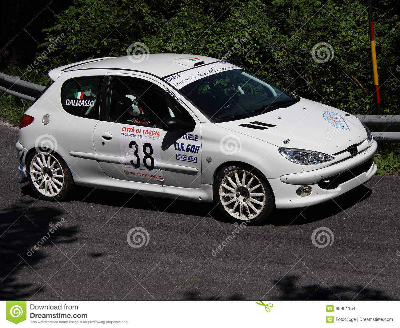 5c36c5fc5 Peugeot 206 RC rally car editorial stock image. Image of held - 69901154