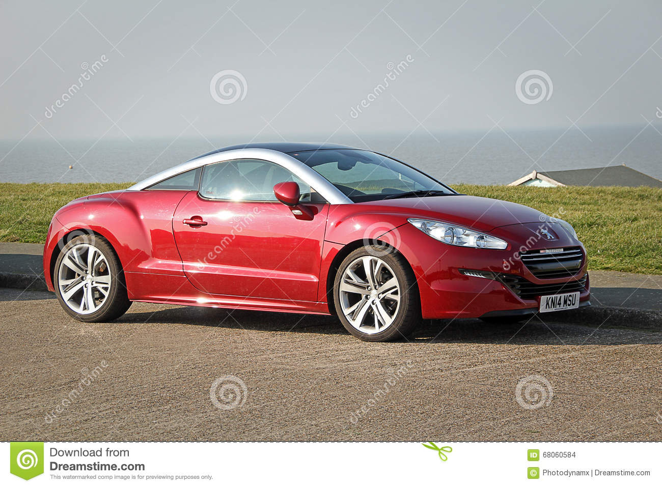 peugeot rcz coupe editorial stock image image of autos 68060584. Black Bedroom Furniture Sets. Home Design Ideas