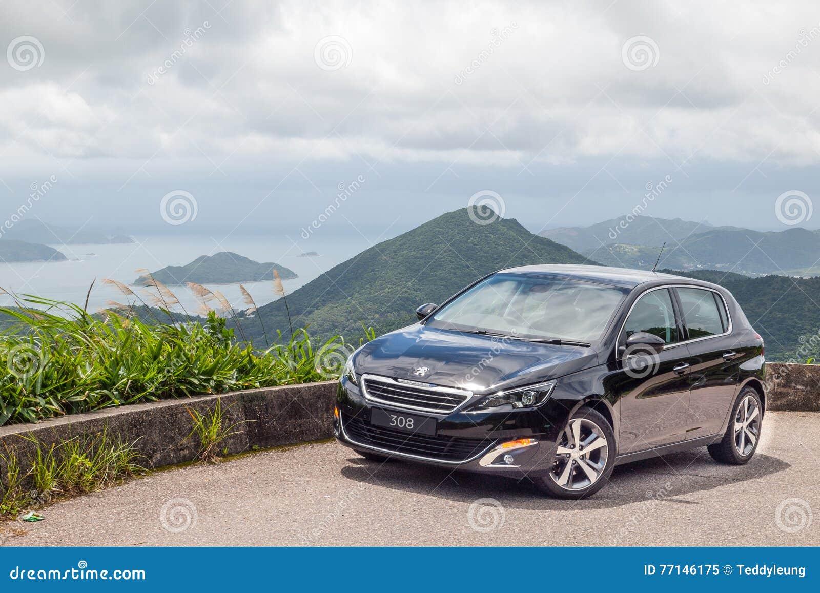 Peugeot 308 2016 testów Prowadnikowy dzień