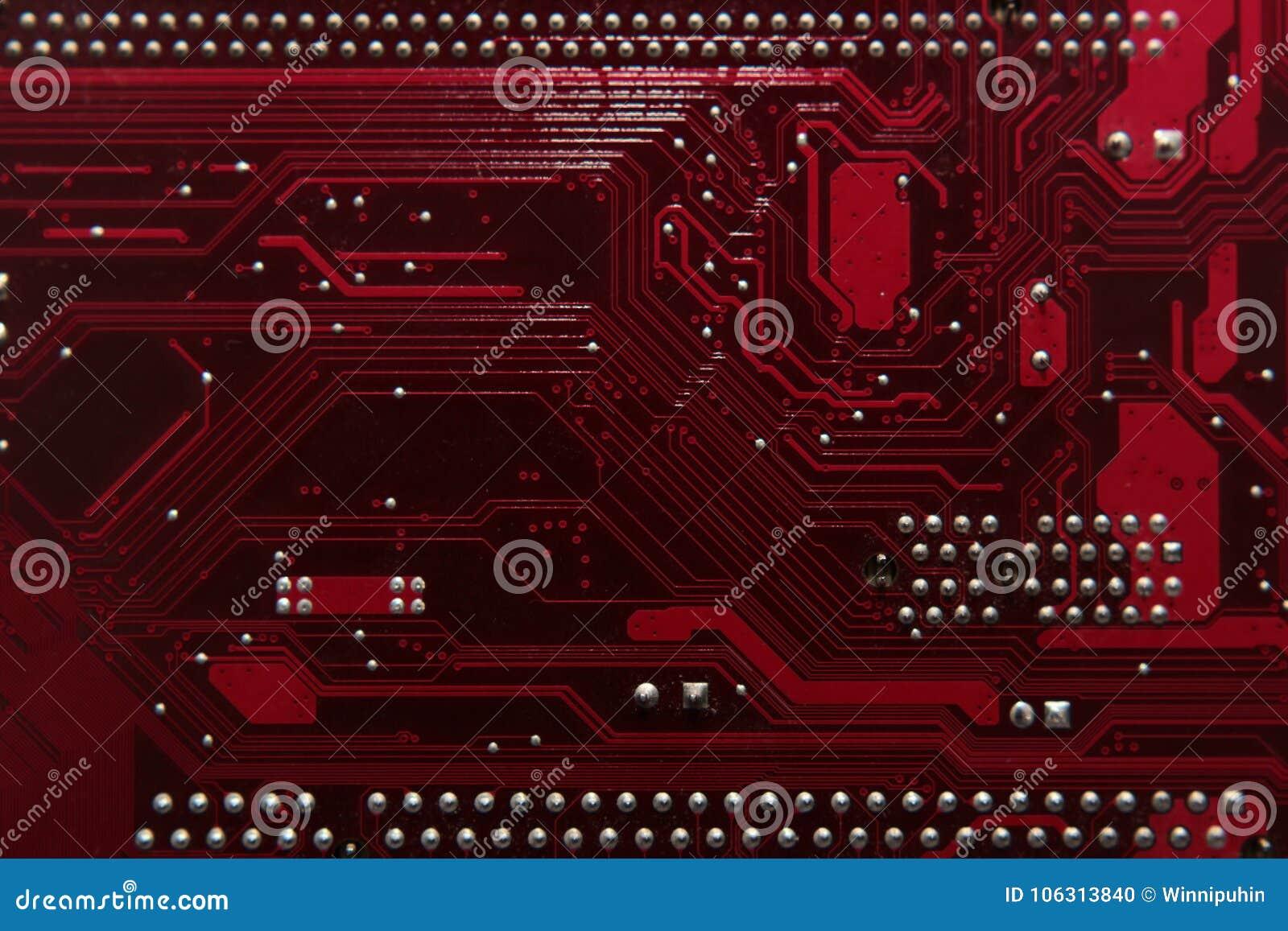 Peut utiliser comme fond Technologie de matériel informatique électronique Puce numérique de carte mère Fond de la science de tec