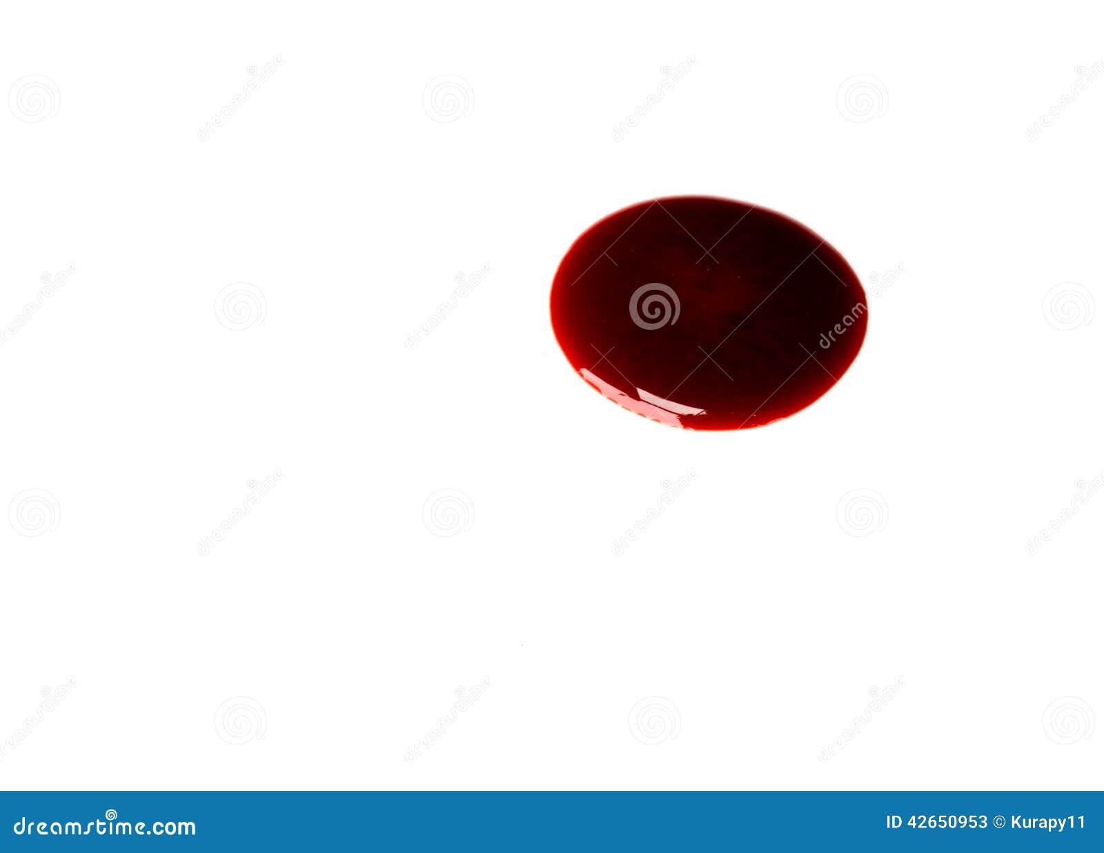 Pfütze des Bluts