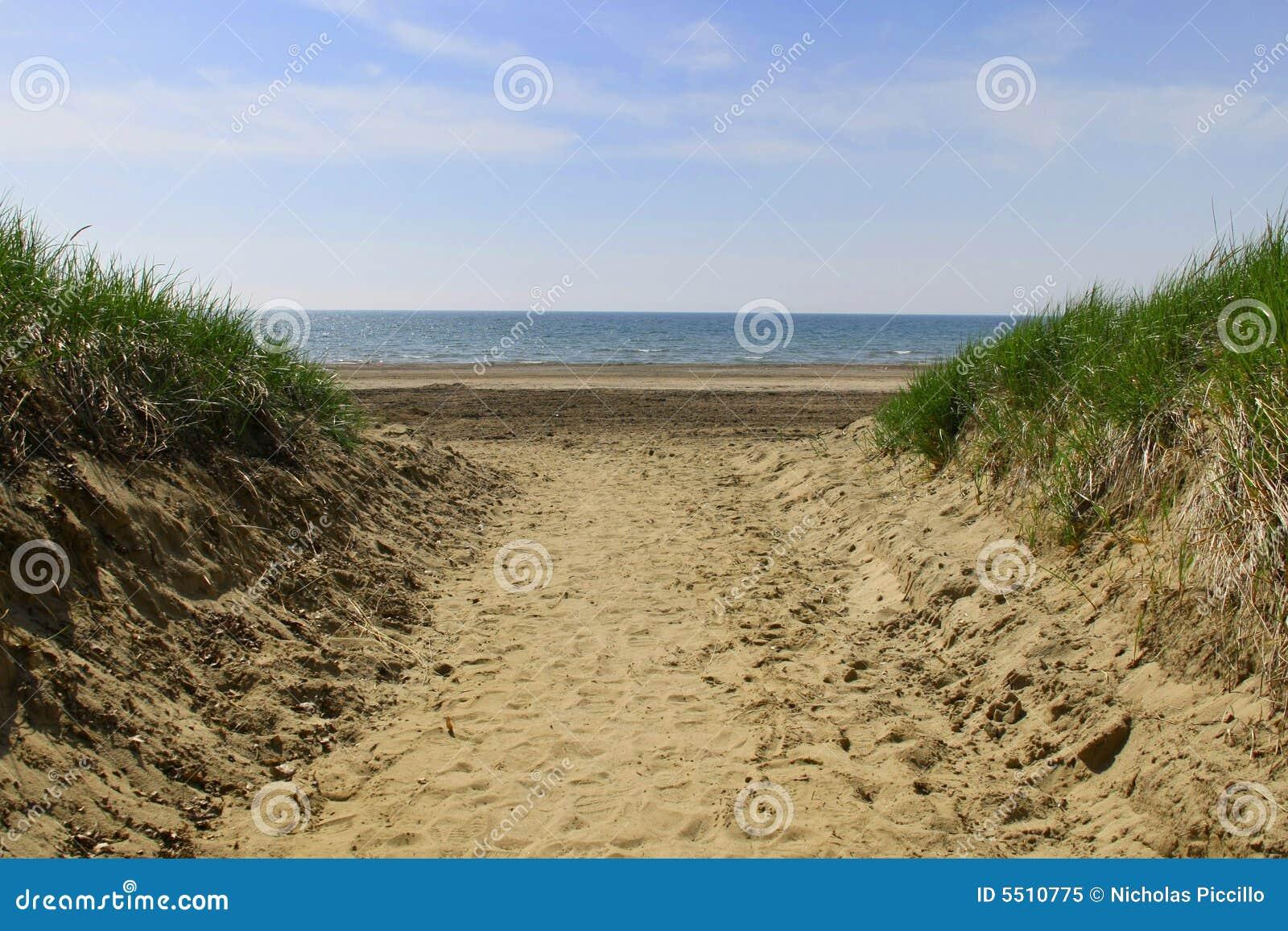 Pfad zum Strand