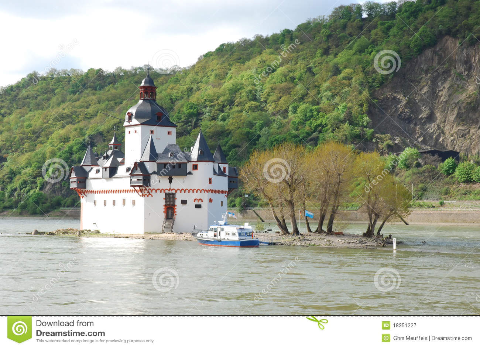 Pfalzgrafenstein Toll Castle, Kaub, Germany