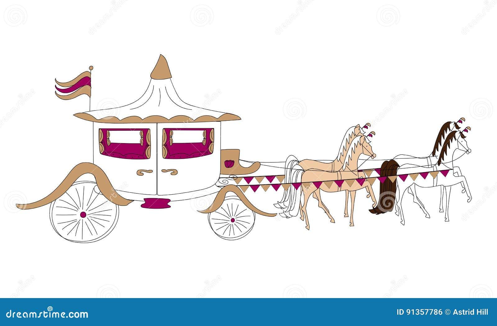 Pferd u. Wagen