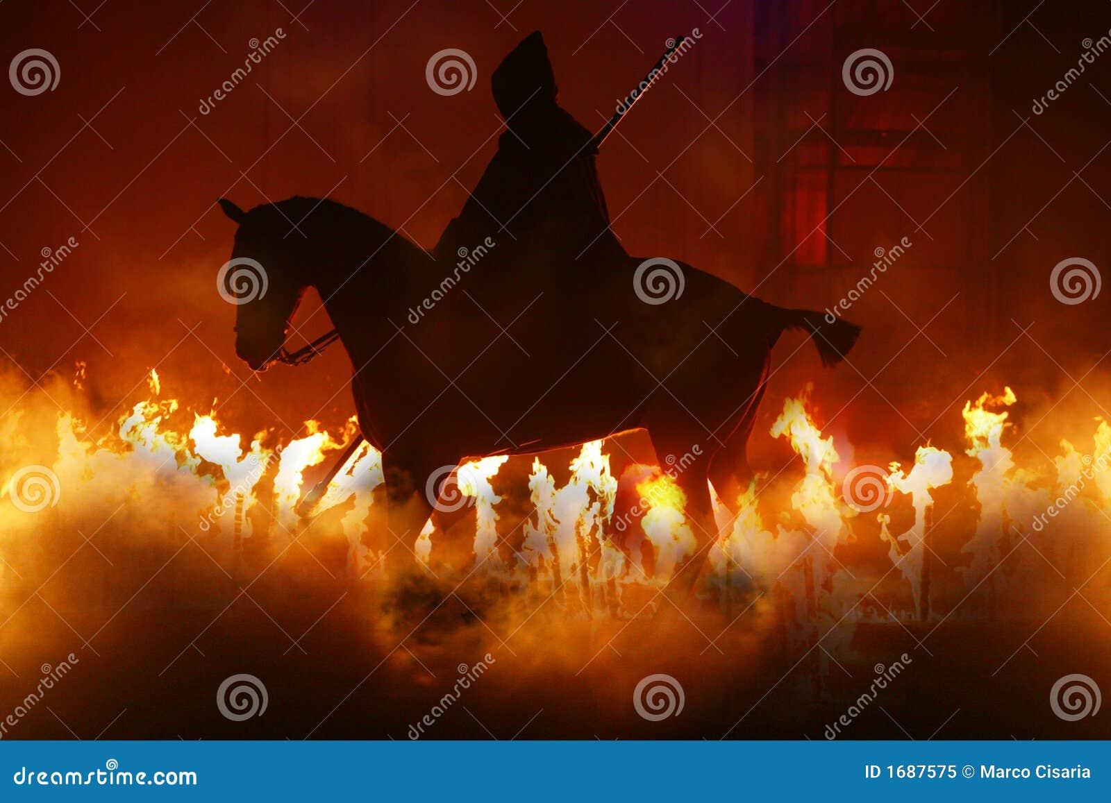 Pferd und Feuer