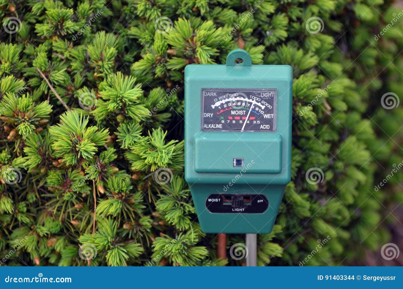 Ph-метр в саде