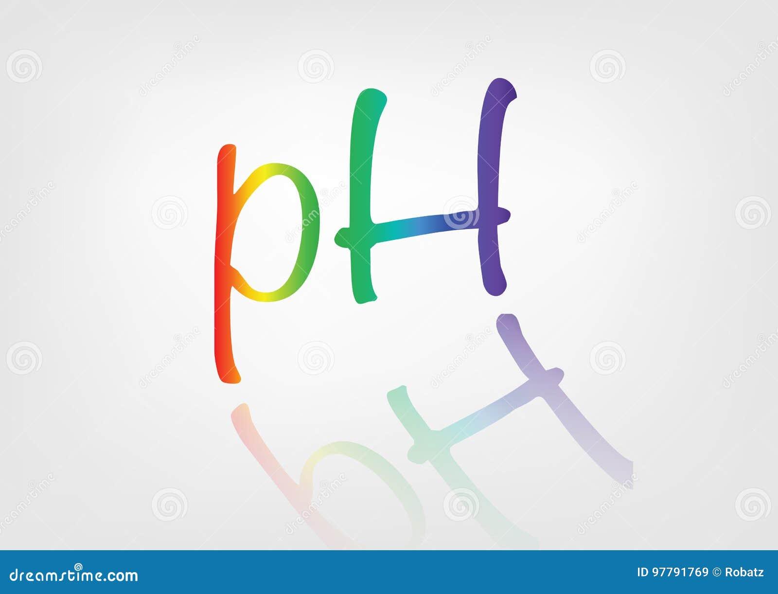 PH równowagi ikona