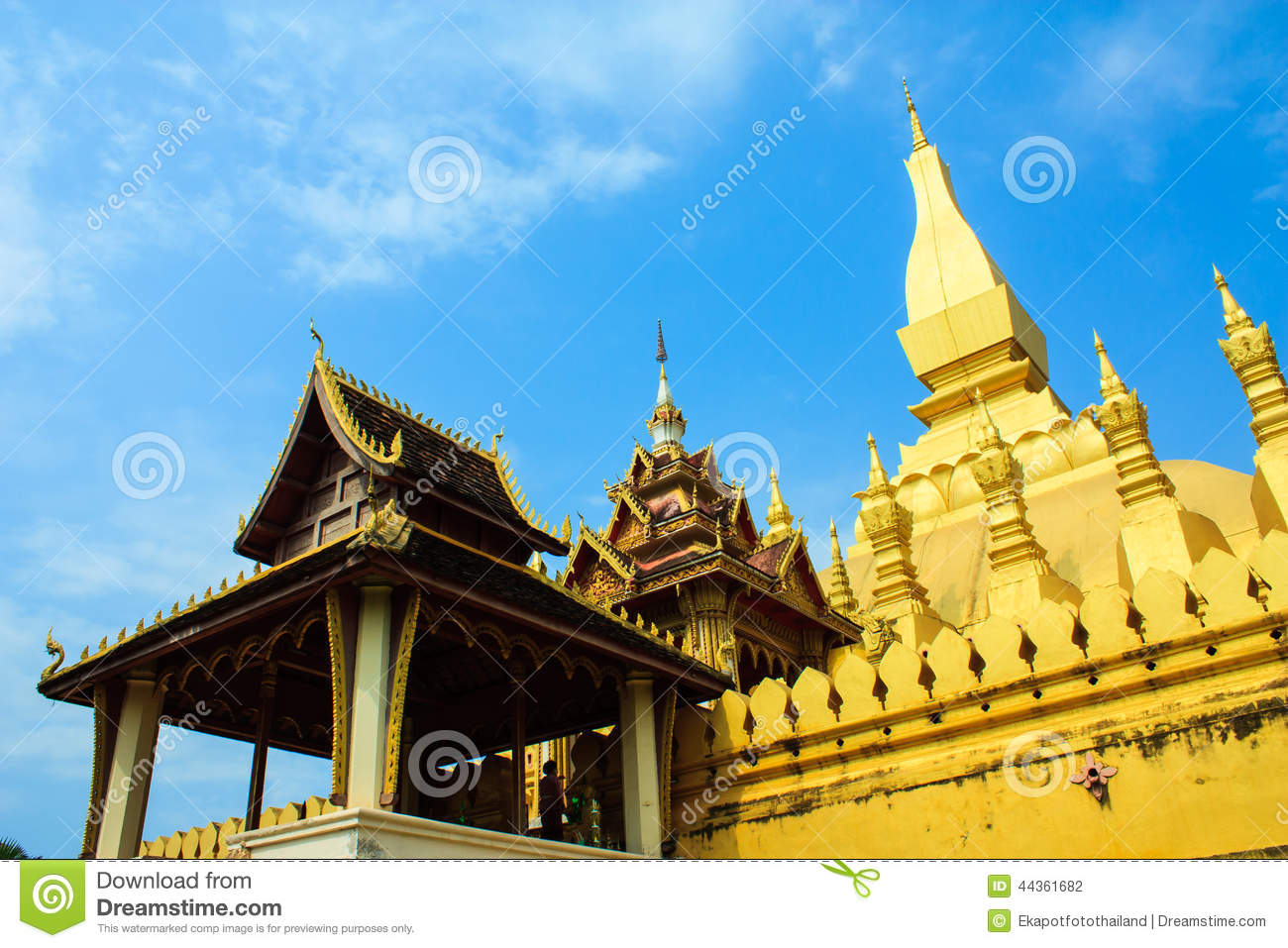 Pha che Luang, Vientian, Loas