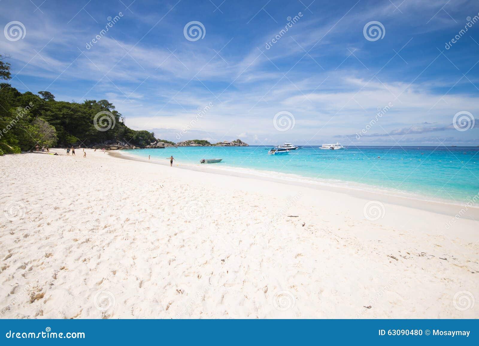 Download PHANG NGA, THAÏLANDE - 7 Novembre 2015 ; Belle île Similan Image éditorial - Image du thailand, tourisme: 63090480