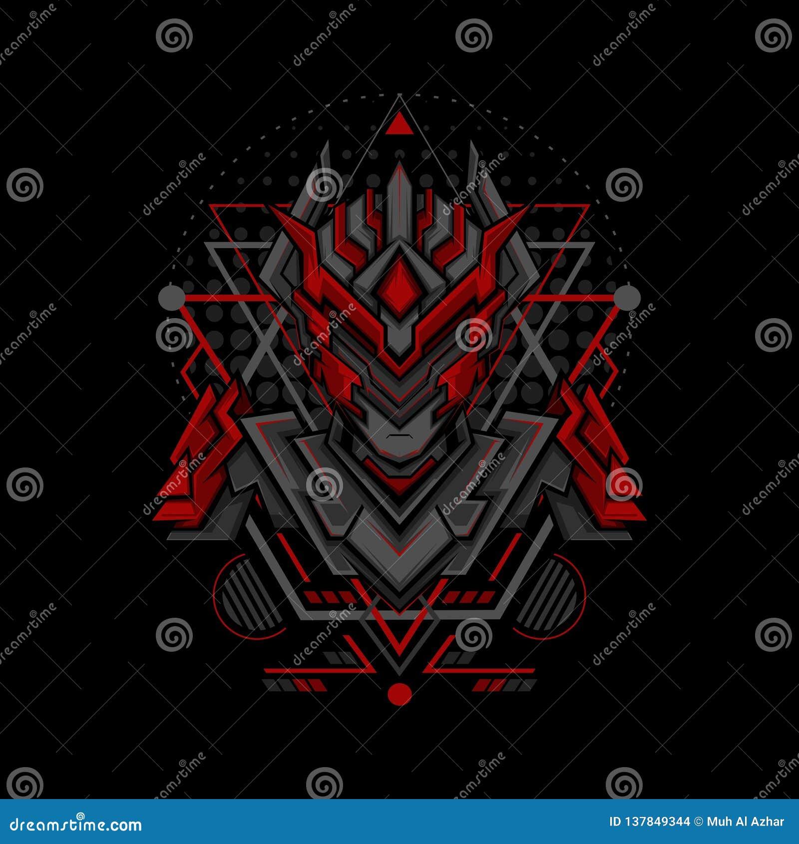 Phantom Project Geometry Style rosso