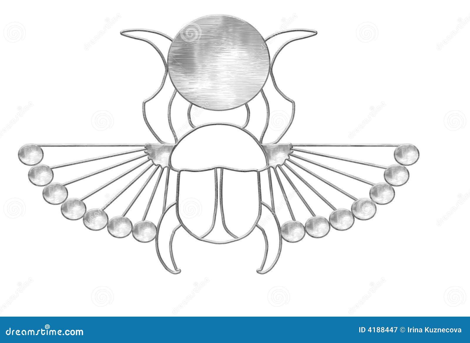 Pharaoh scarab