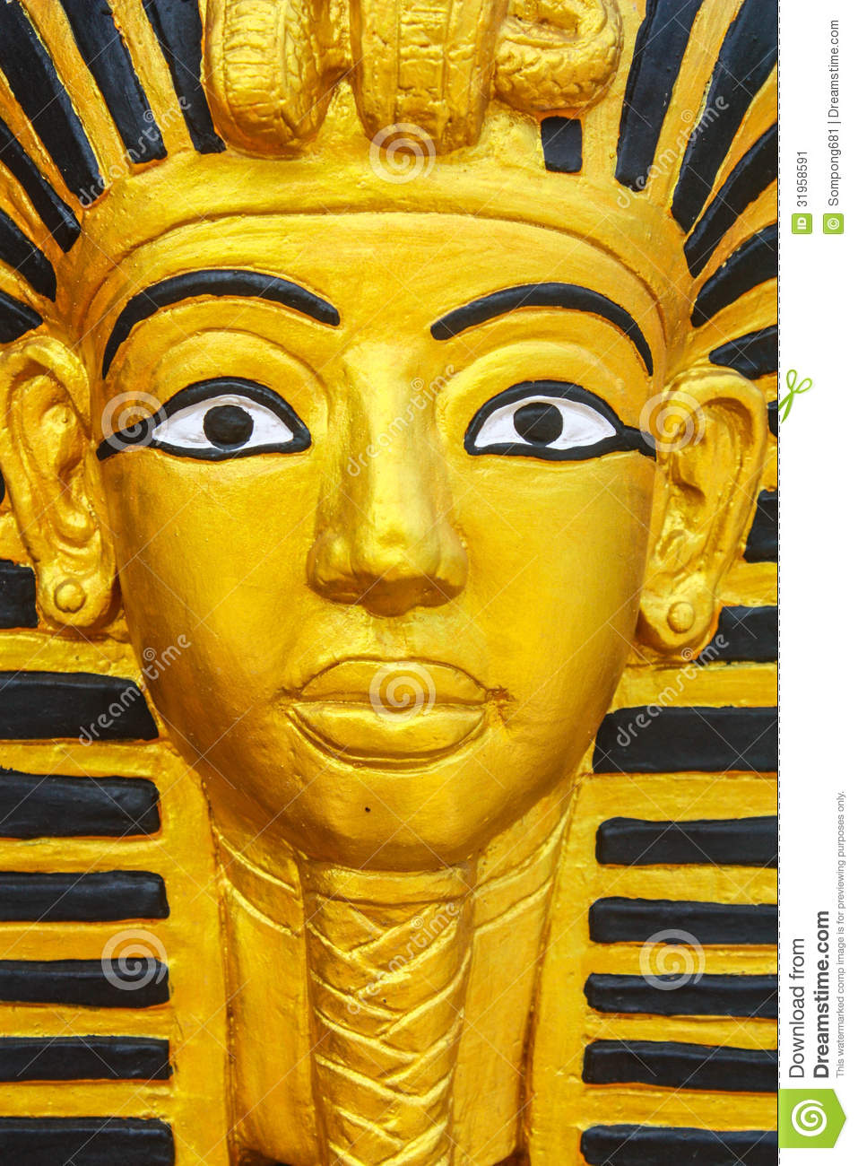 pharaoh sculpture stock image  image of past  famous