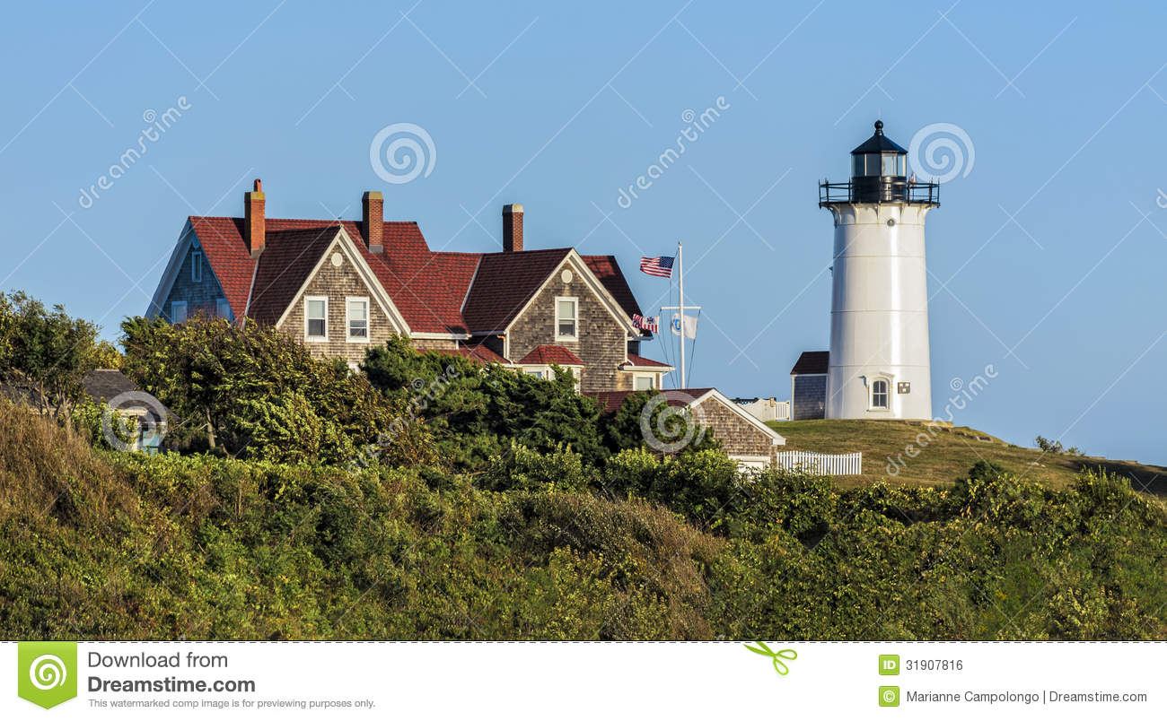 Phare Cape Cod le Massachusetts de Nobska