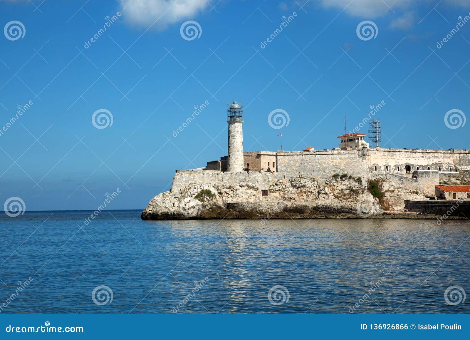 Phare de Castillo Del Morro au Cuba