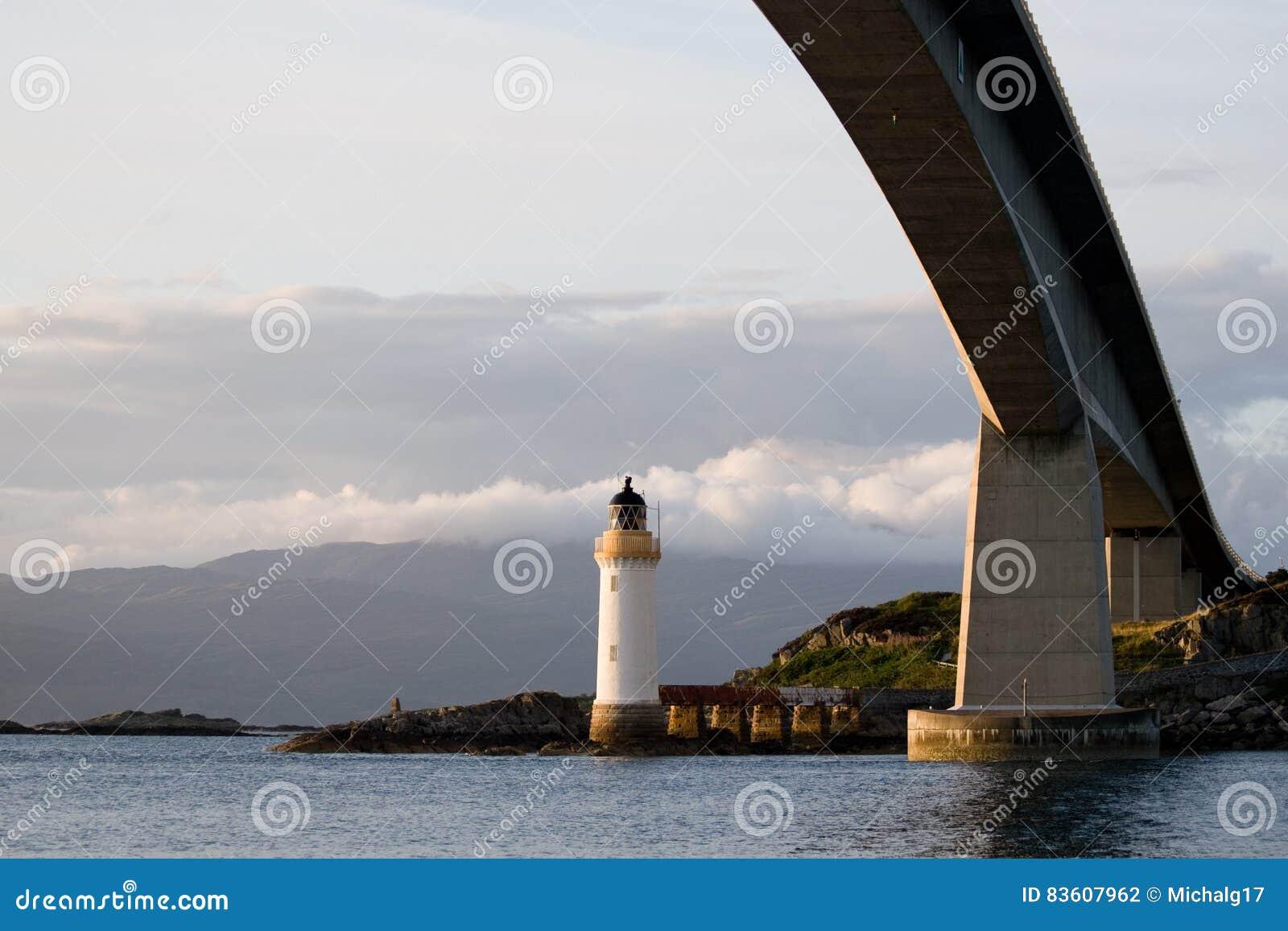 Phare de Kyleakin, Skye Bridge en Ecosse