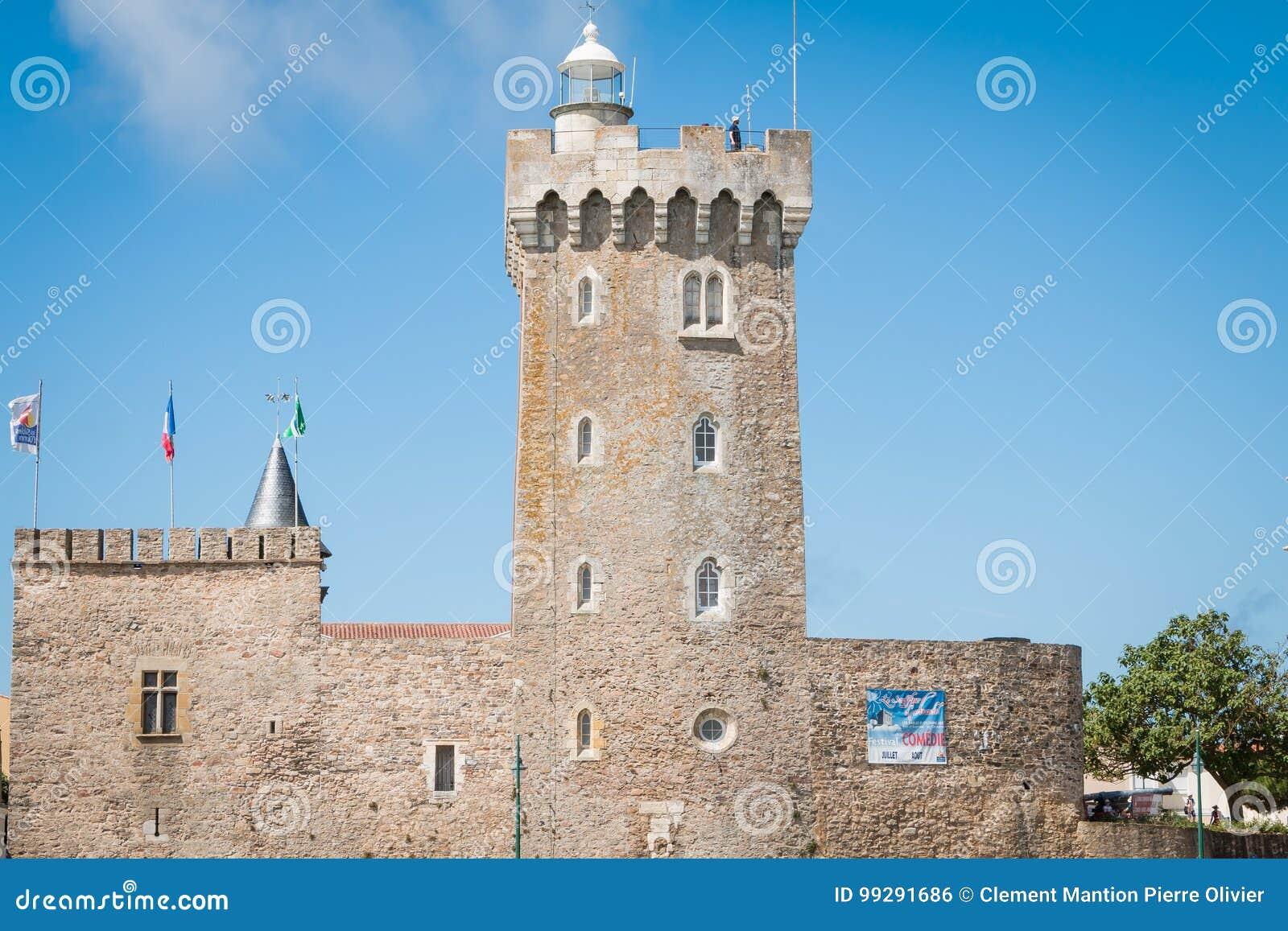 Phare de La Chaume ou tour d Arundel