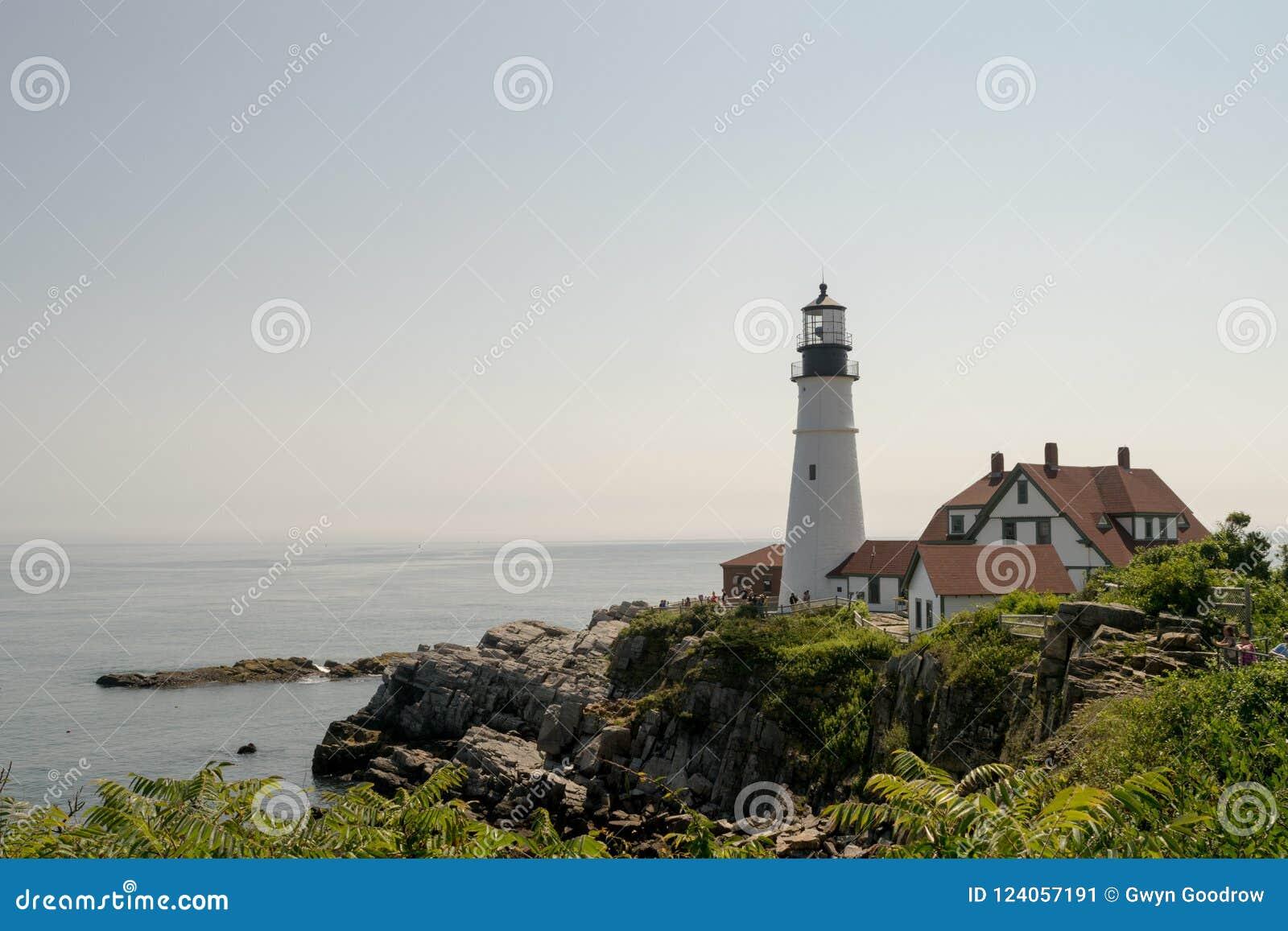 Phare de tête de Portland, Portland Maine, Etats-Unis