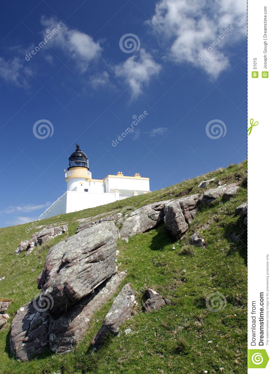 Download Phare, Ecosse image stock. Image du champs, architecture - 51015
