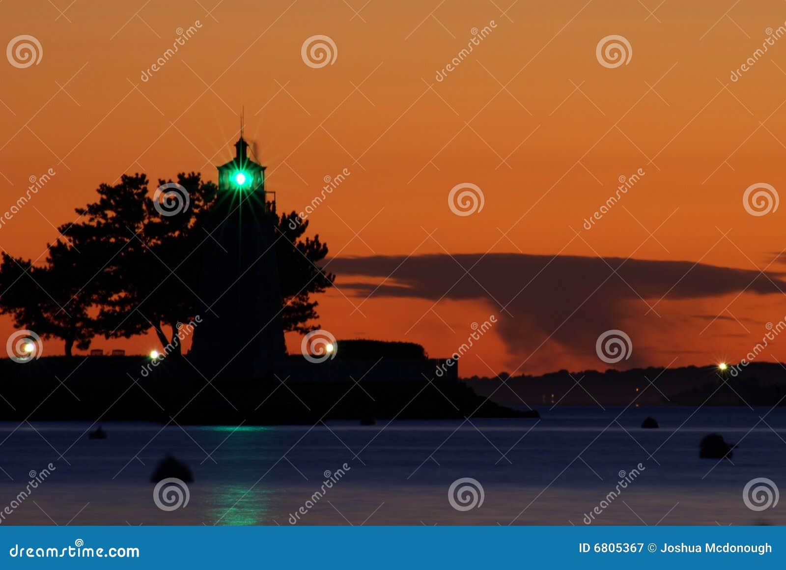 Phare newport d île de chèvre