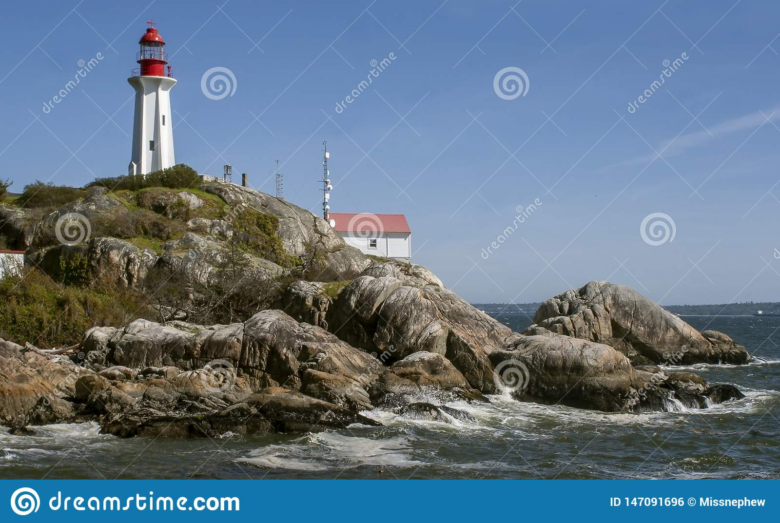Phare Vancouver occidental