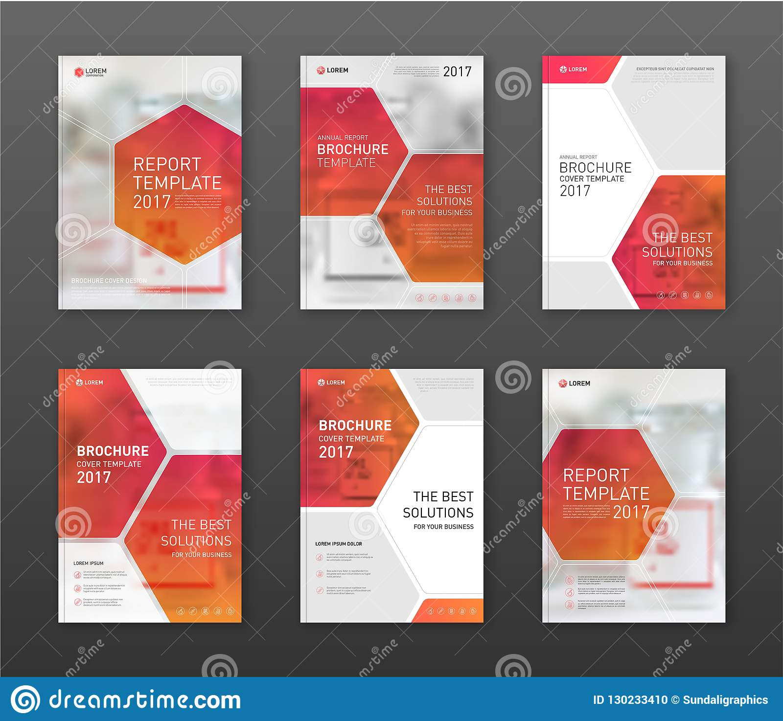 Pharmaceutical Brochure Cover Templates Set. Stock Vector For Pharmacy Brochure Template Free