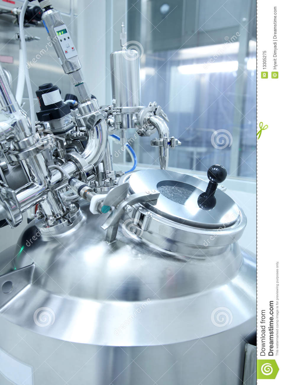 Pharmaceutical Laboratory Stock Photo & More Pictures of ... |Pharmaceuticals Lab