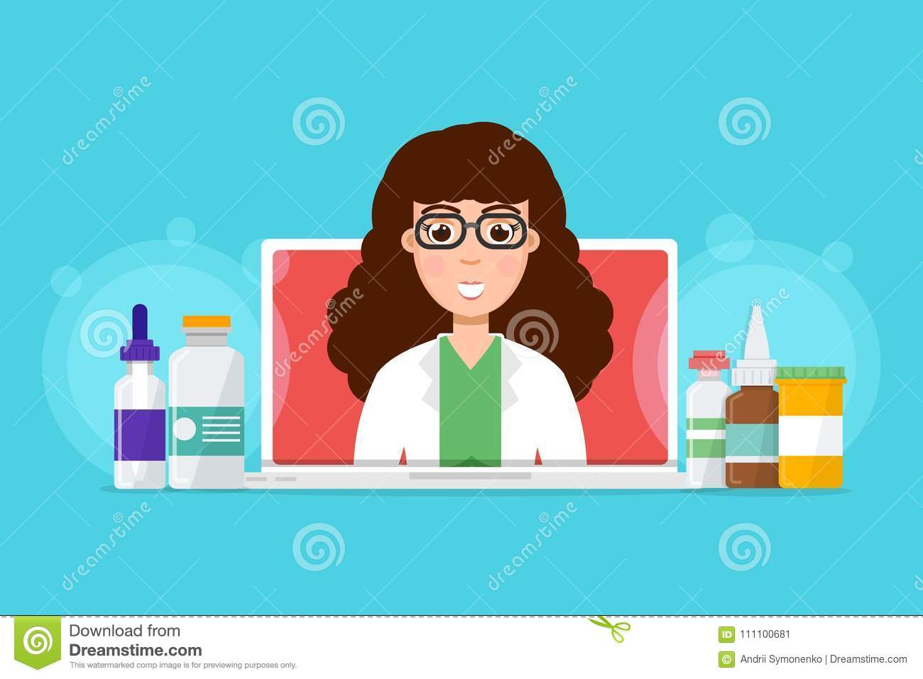 Doctor Consultation Banners Shopping Website Banners