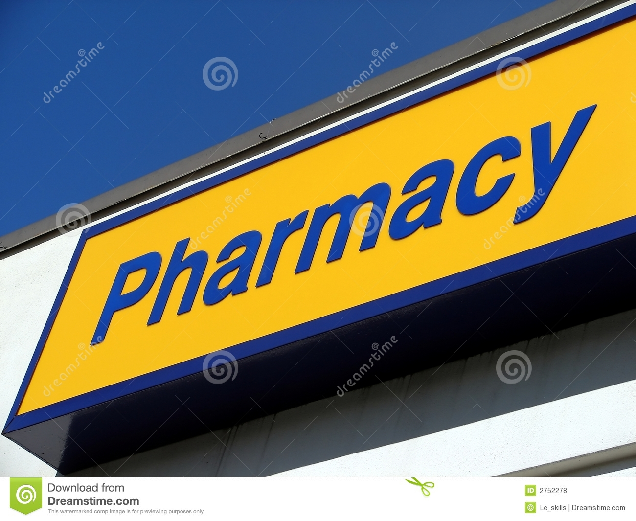 Pharmacy Sign Royalty Free Stock Photos - Image: 2752278