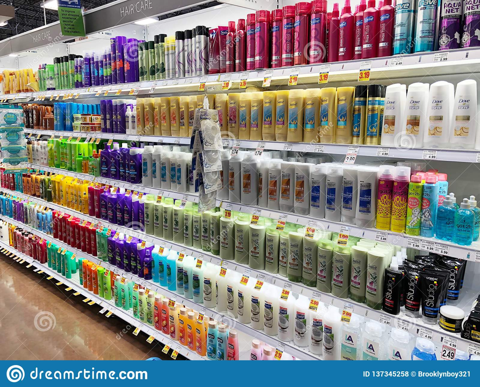 Pharmacy Store Selling Shampoo Editorial Stock Photo Image