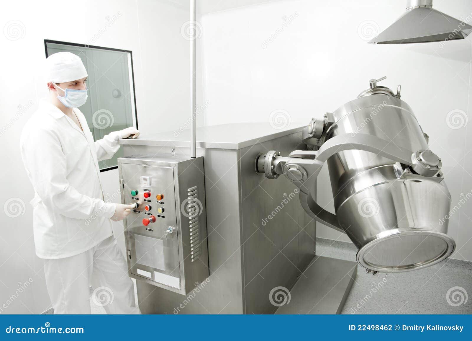 Pharmazeutischer Arbeiter