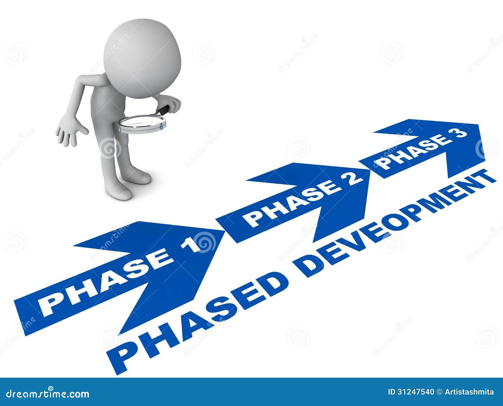 Phased Development Project Stock Illustration. Illustration Of Background