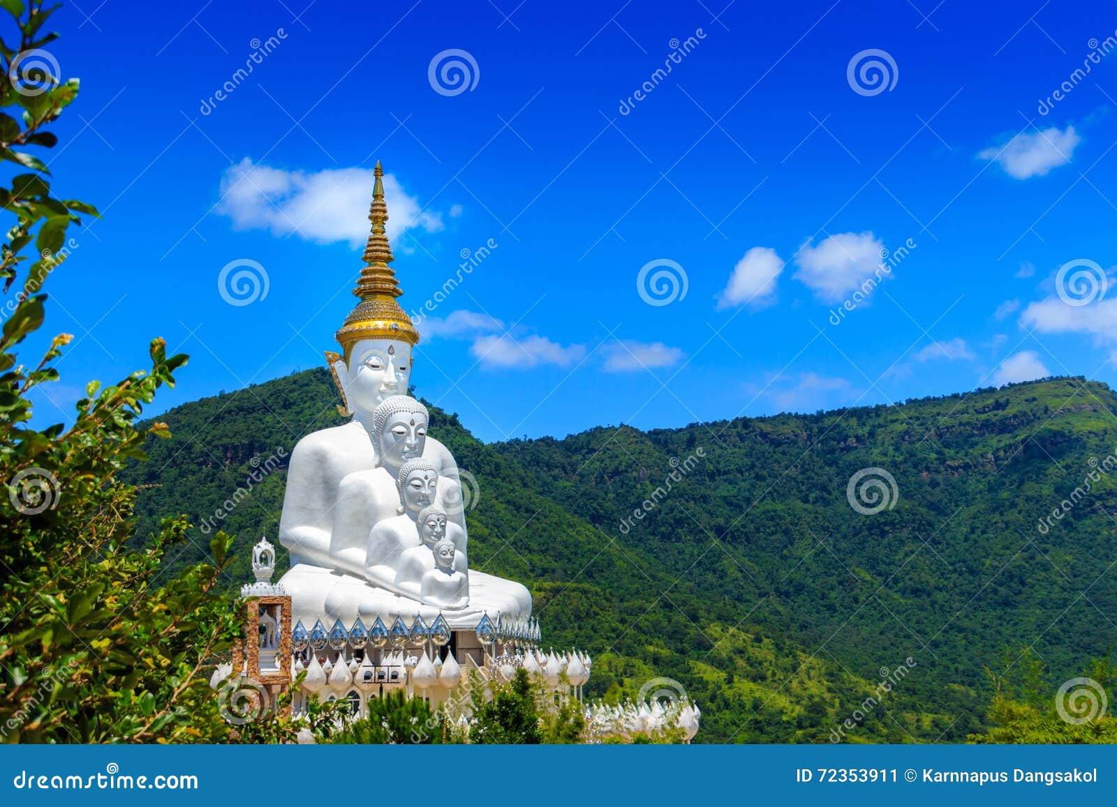 Phasornkaew寺庙的,泰国菩萨