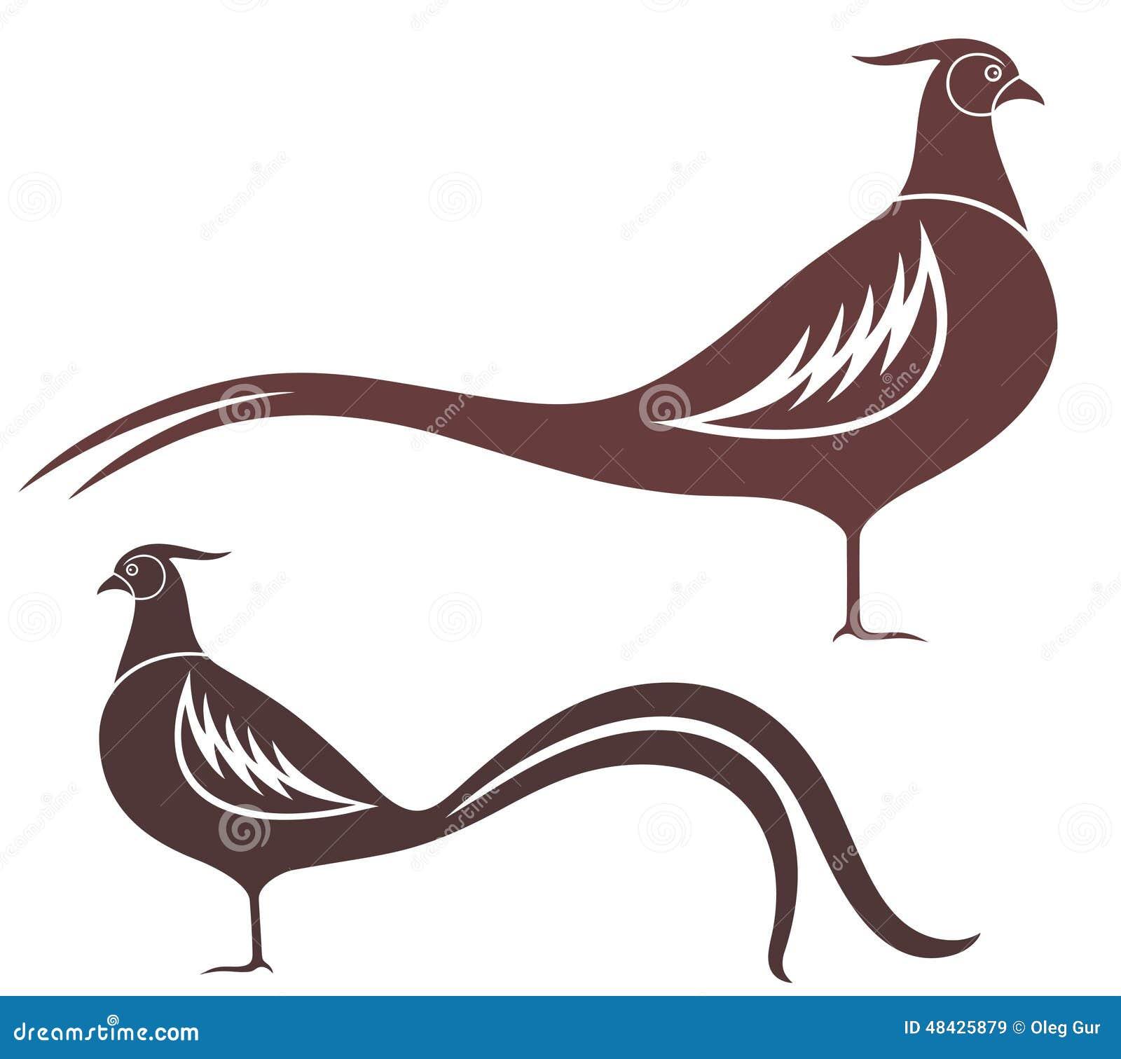 pheasant stock vector image 48425879 pheasant clipart pheasant clip art silhouette