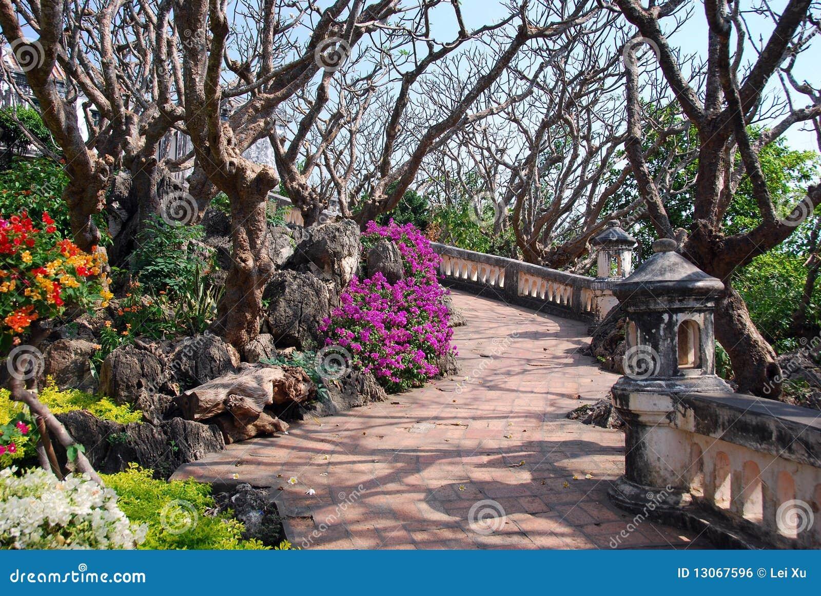 Phetchaburi Thailand  city photos : Phetchaburi, Thailand: Royal Palace Gardens Royalty Free Stock Image ...