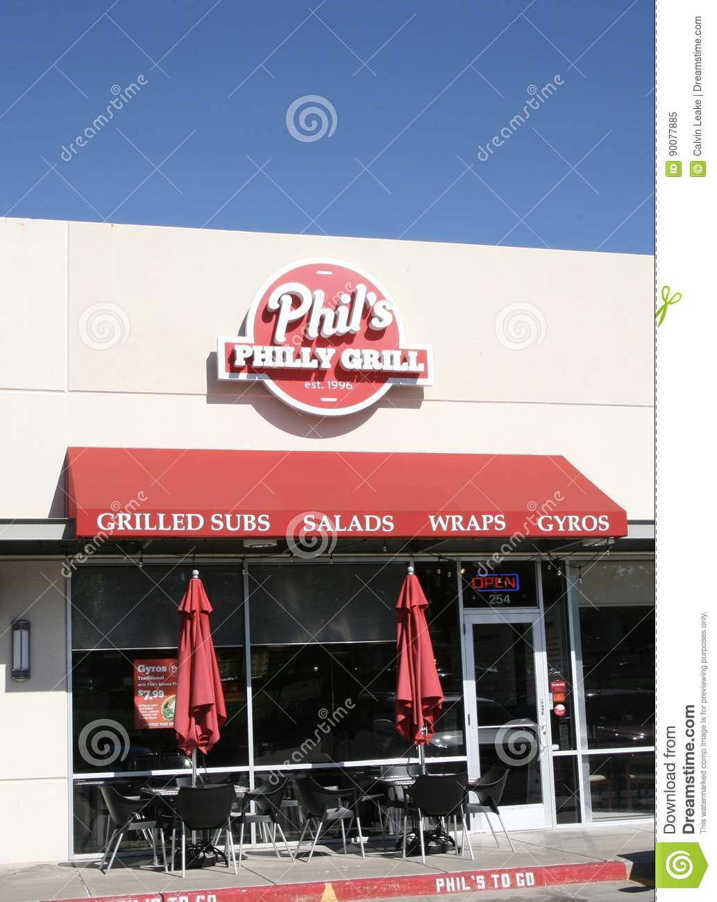 Phil` s Philly Grill Storefront