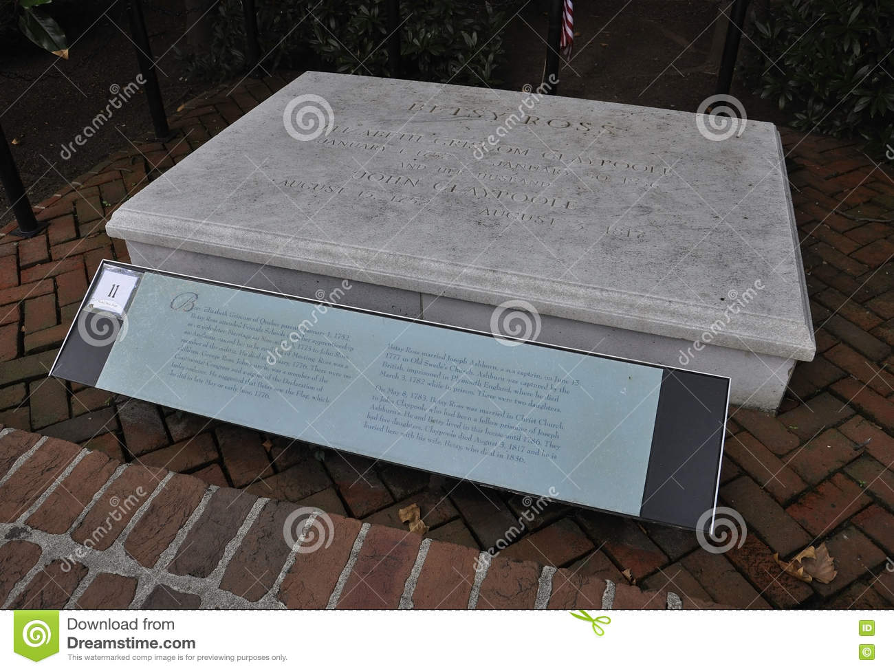 Betsy Ross Grave Stock Images - Download 12 Royalty Free ...
