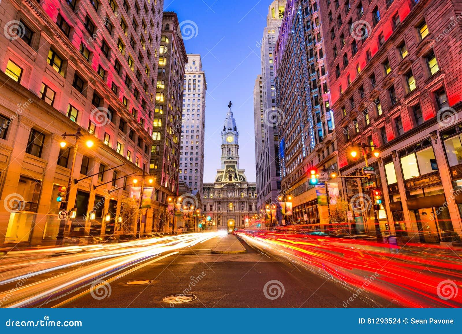 Philadelphia on Broad Street