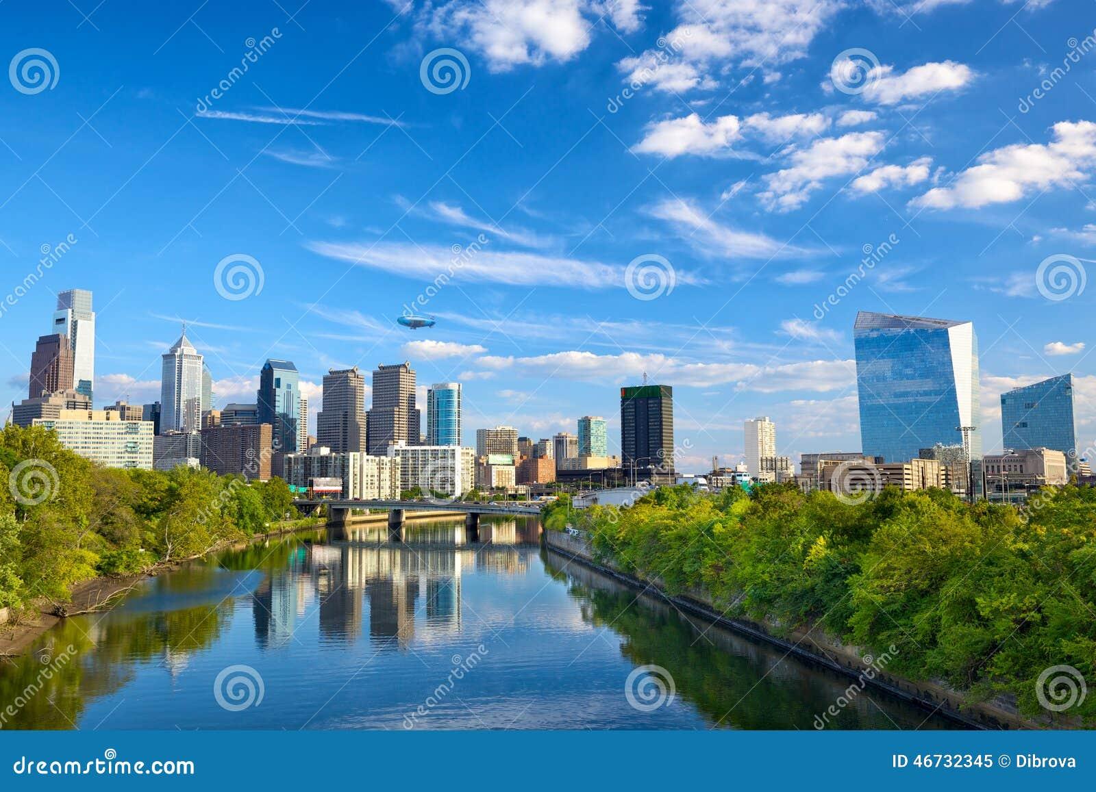 Philadelphia de stad in