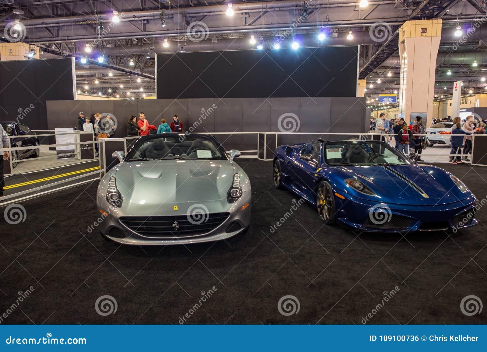 PHILADELPHIA PA Feb Ferrari At The Philadelphia Auto Show - Philadelphia car show 2018