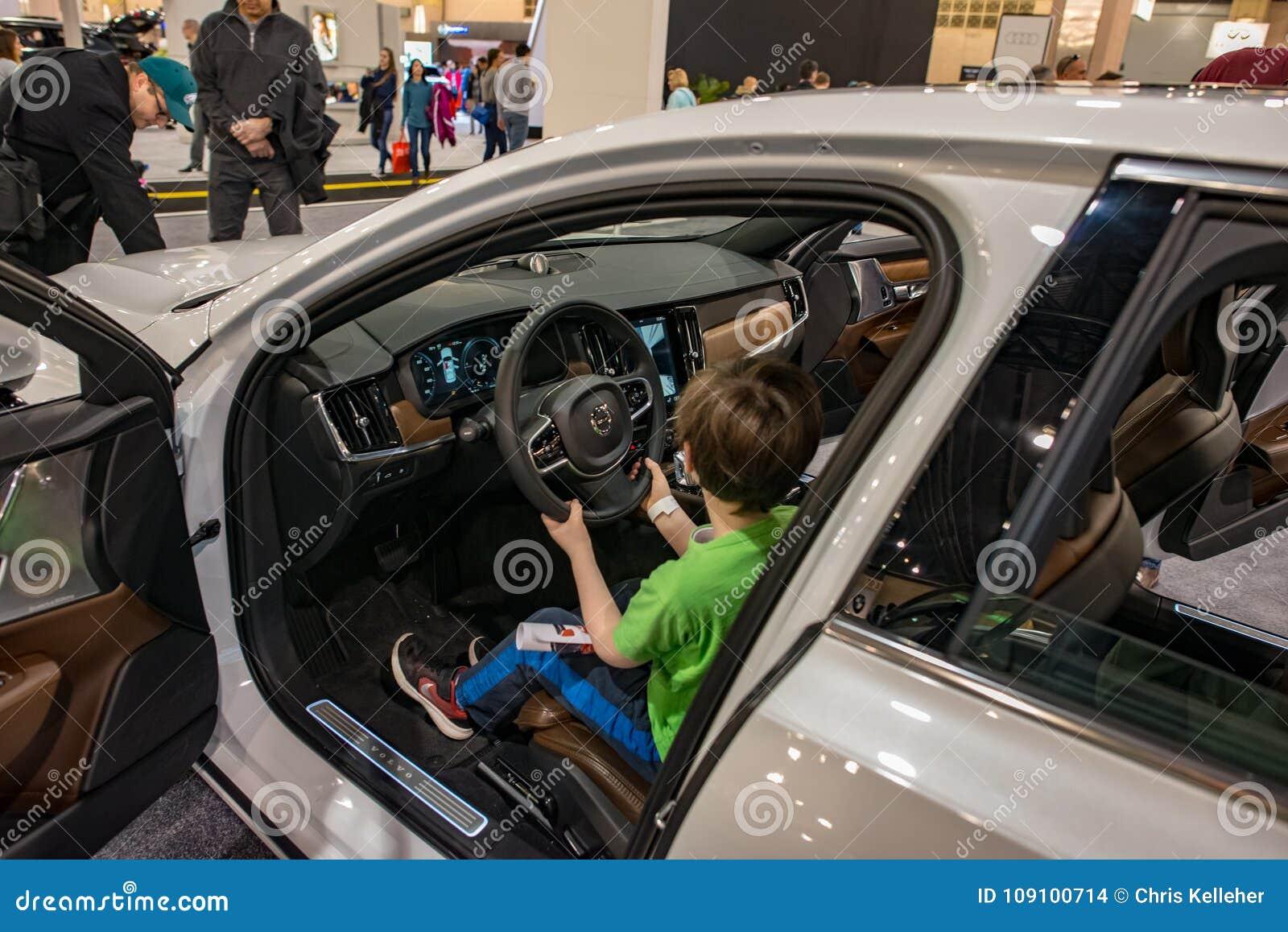 PHILADELPHIA PA Feb Volvo At The Philadelphia Auto Show - Philadelphia car show 2018