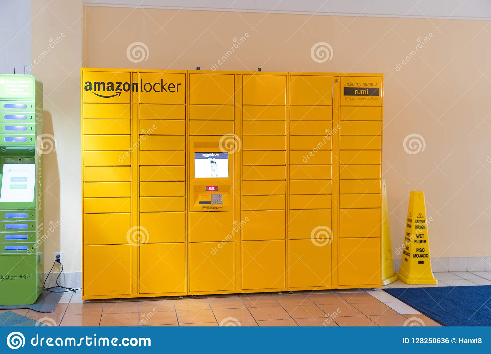 Image of an Amazon packages. Amazon is an online company and is the largest retailer in the world.
