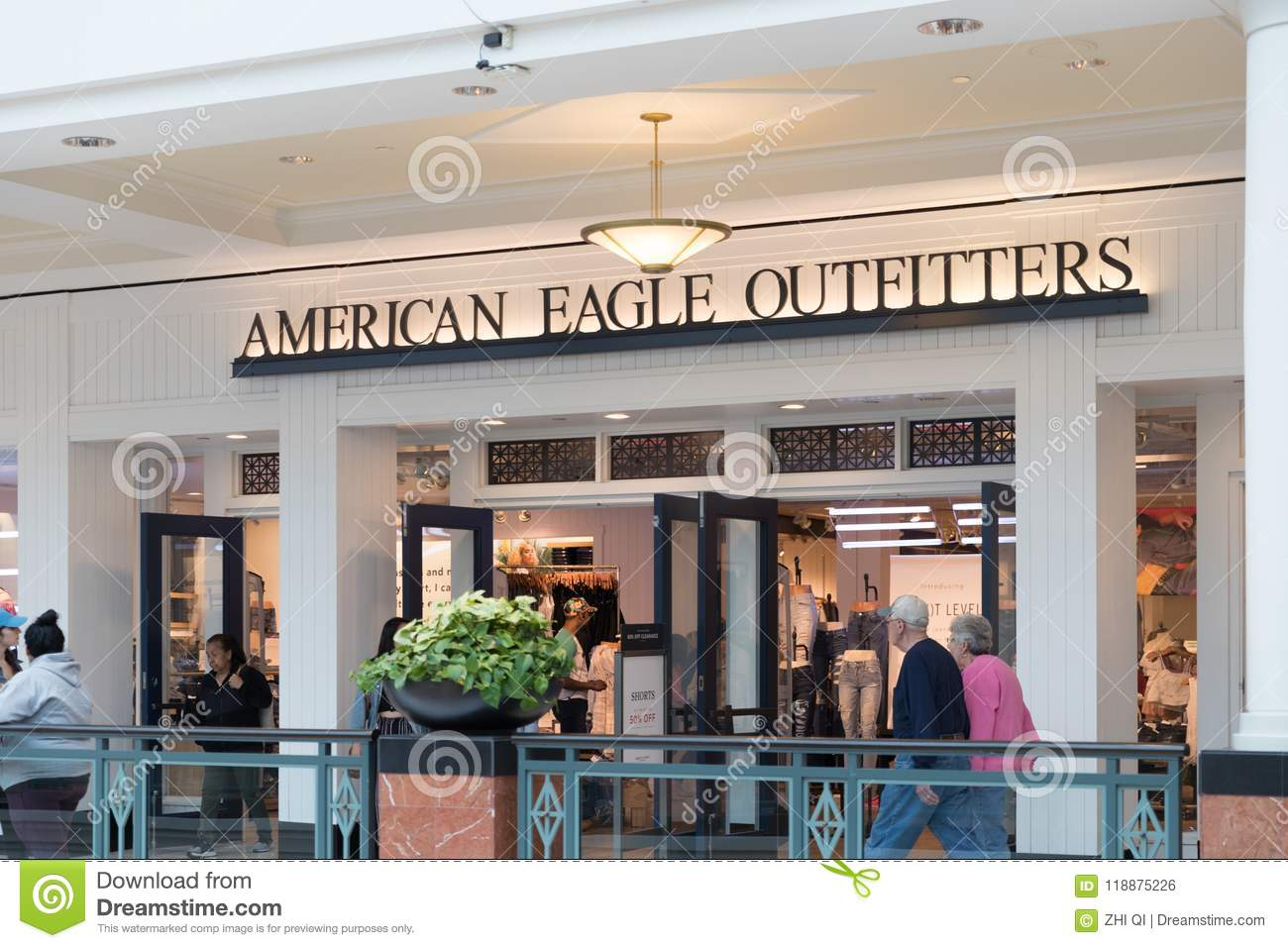 Download American Eagle Logo On Store Front Editorial Photo