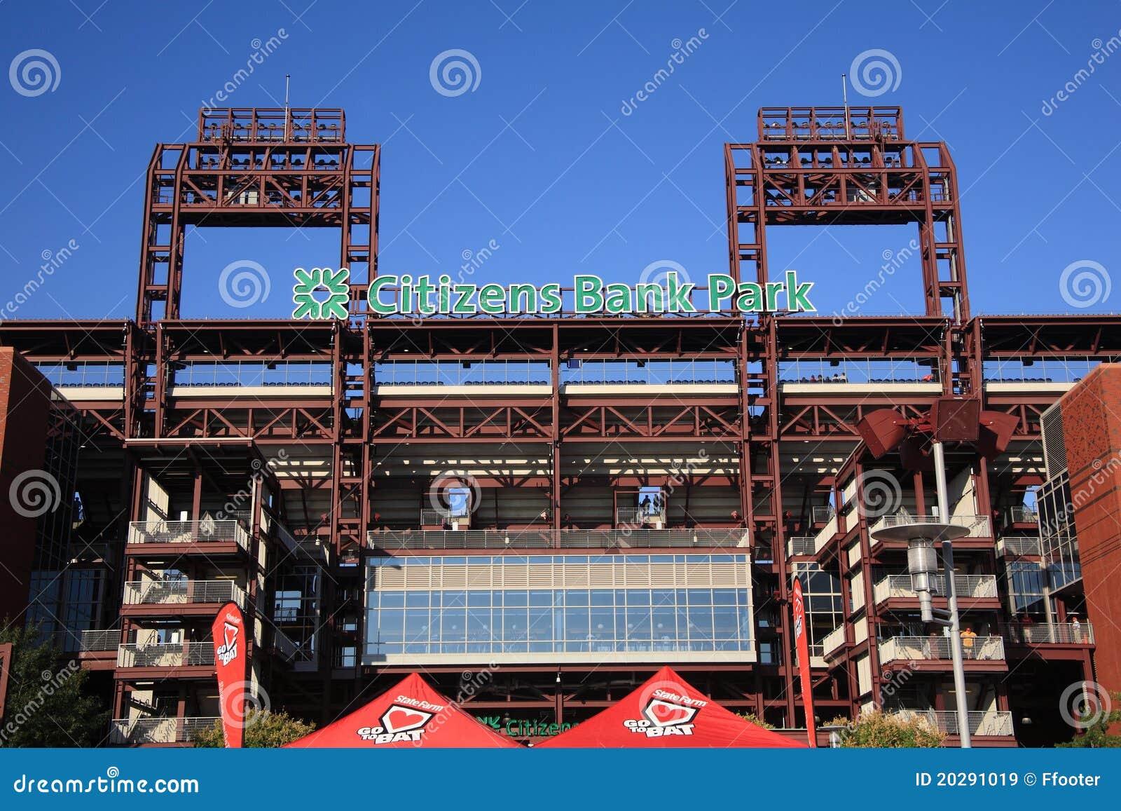 Philadelphia Phillies - het Park van de Bank van Burgers