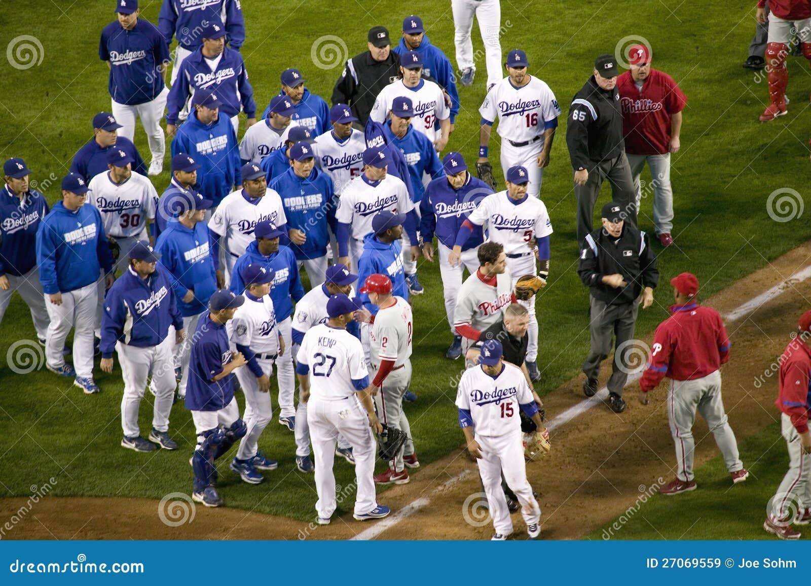 Philadelphia Phillies and LA Dodgers