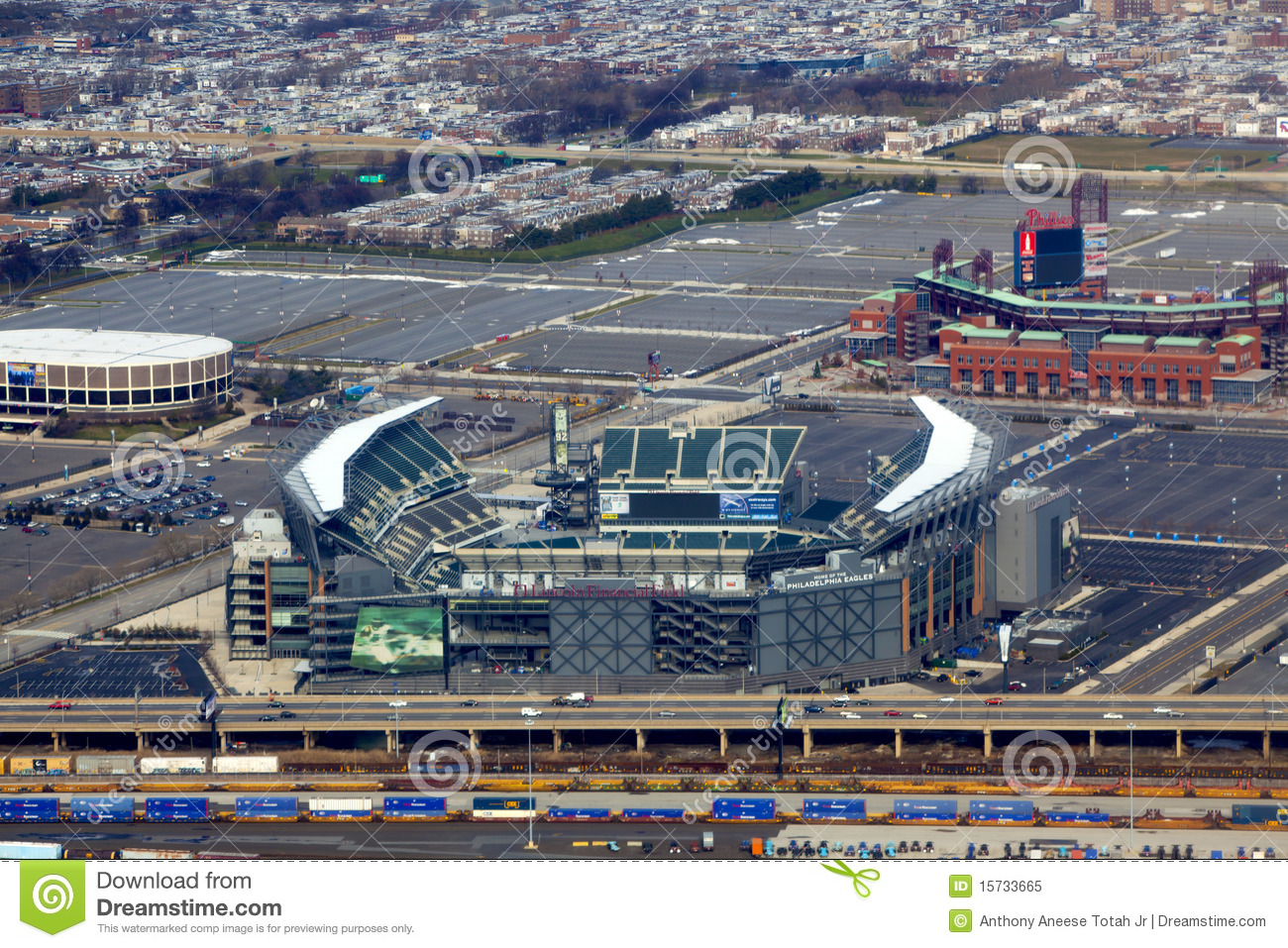 Philadelphia Sports Complex Editorial Image Image 15733665