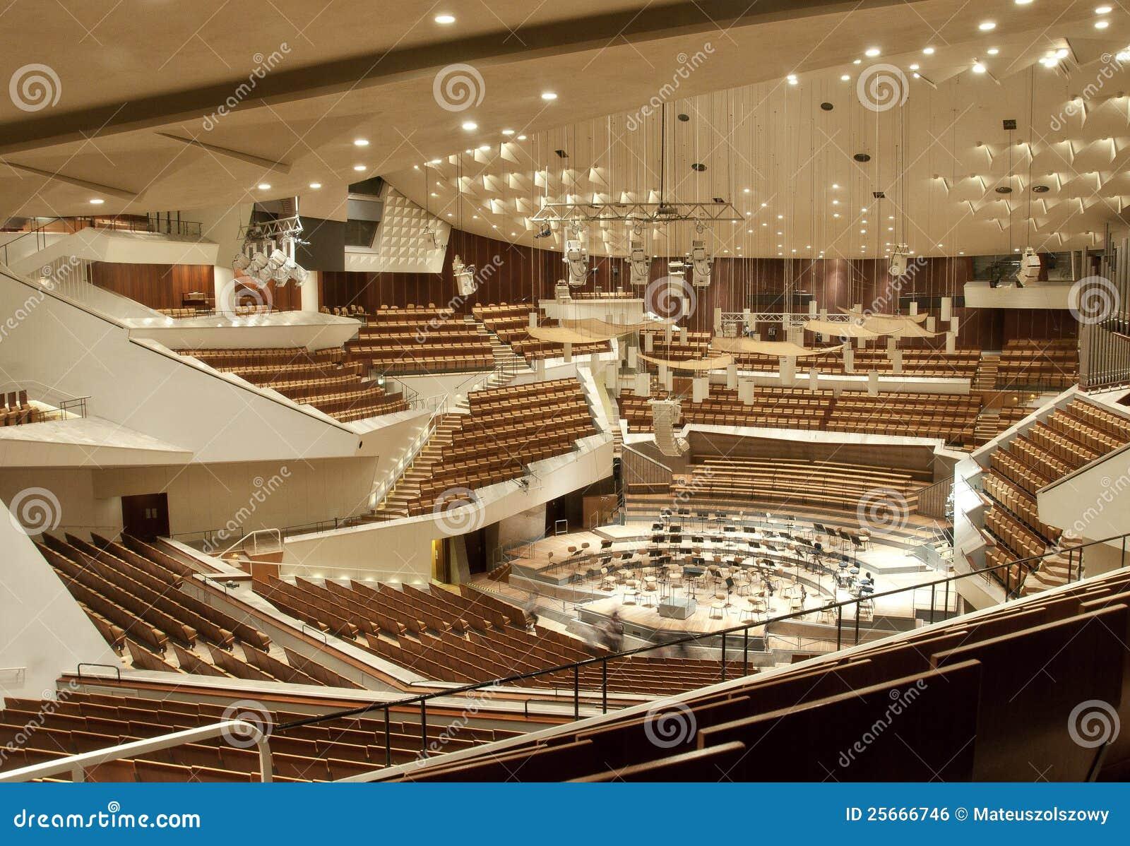 Philharmonie De Berlin Photo Stock Image Du Futuriste 25666746