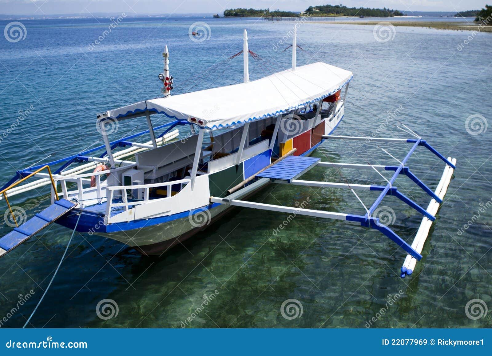 Philippine Bangka Boat Royalty Free Stock Images - Image: 22077969