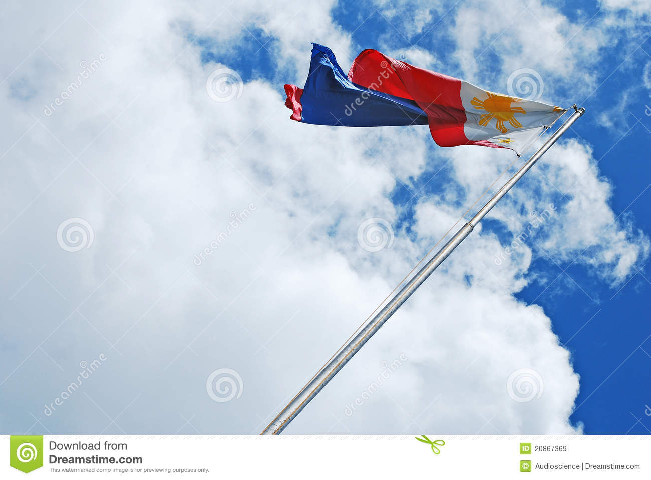 Philippine Flag Royalty Free Stock Images - Image: 20867369
