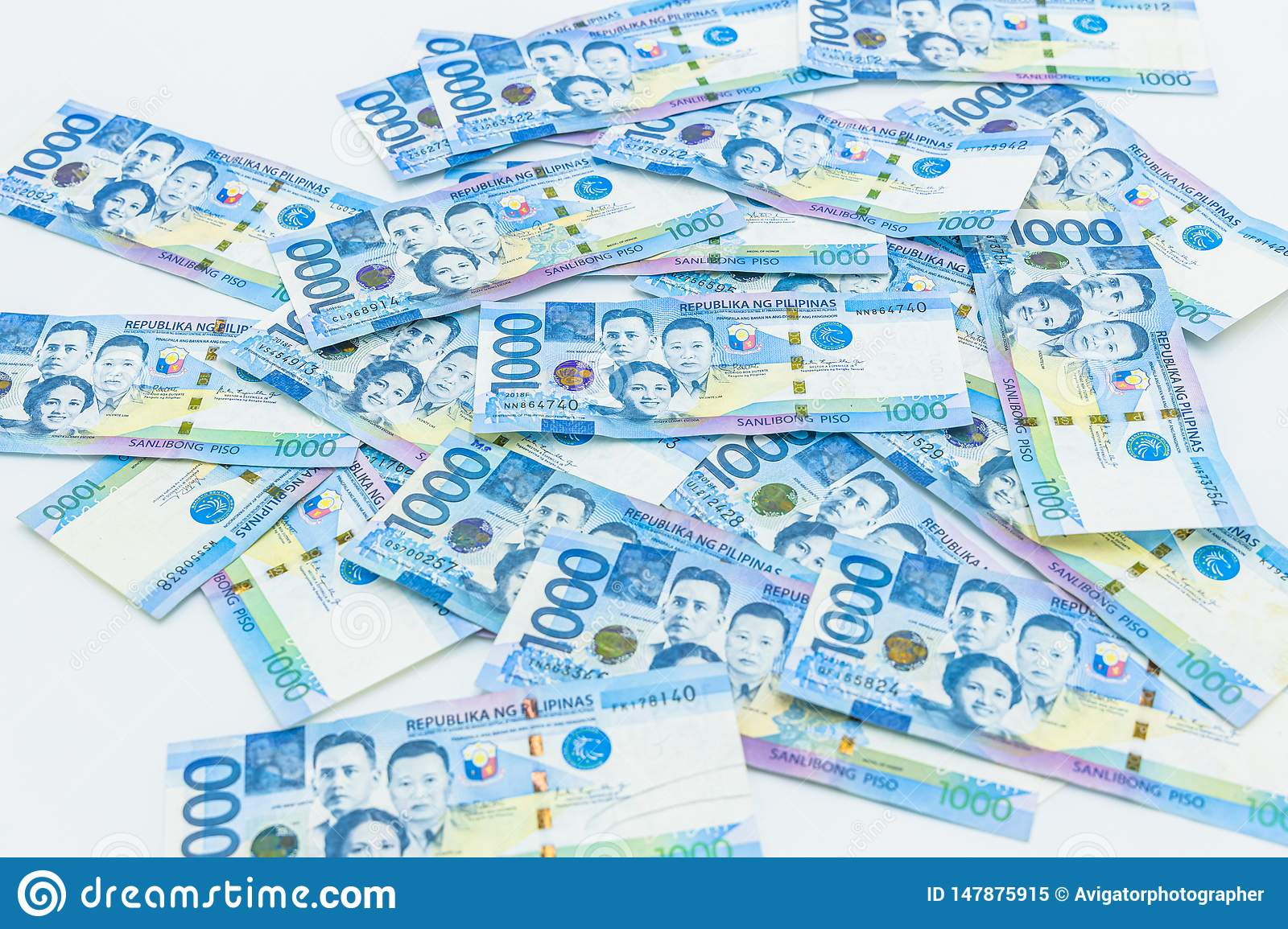 Philippine 1000 Peso Bill, Philippines Money Currency