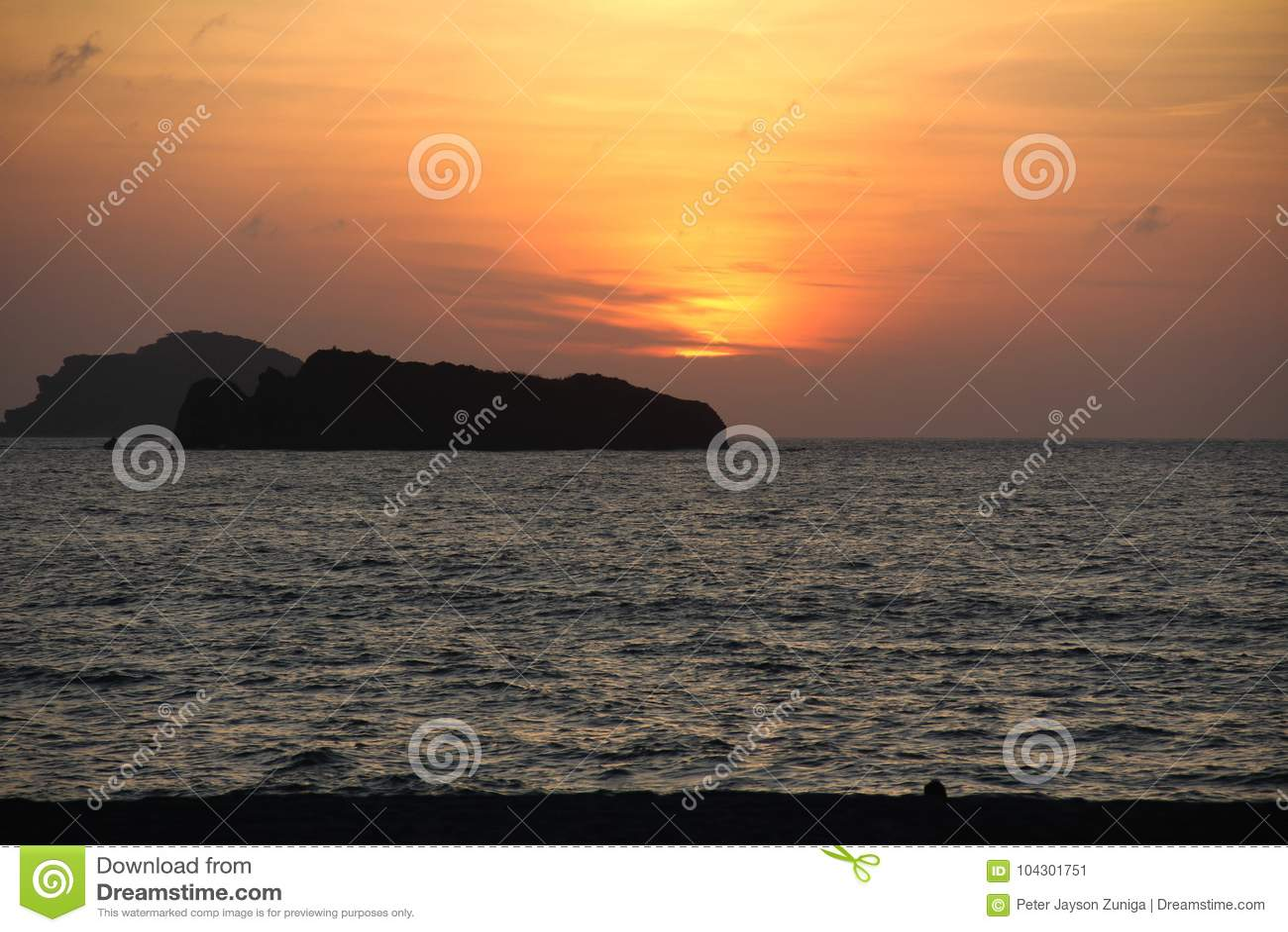 Philippine Resort Sunset Stock Image Image Of Beach 104301751